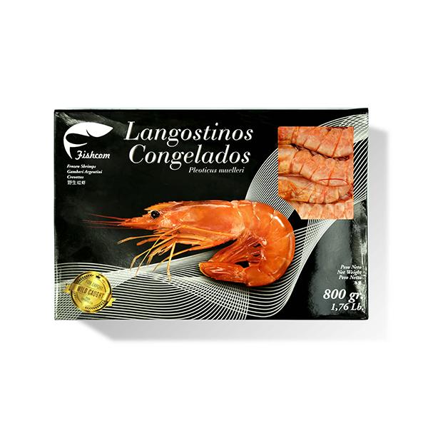 红虾800g